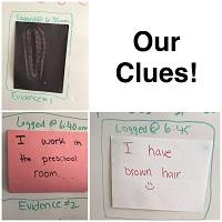 Written list of clues